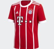 Adidas FC Bayern Munich Home Replica Youth's Jersey