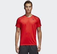 Shop Adidas D2M 3-Stripes Tee 3S