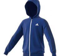 adidas Boy's Training Gear Up Full Zip Hoodie