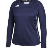 Adidas Women's Utility Long Sleeved Collegiate Navy/White