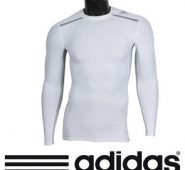 Shop Adidas Men's Techfit Chill Long-Sleeved