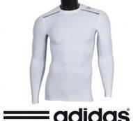 Shop Adidas Men's Techfit Chill Long-Sleeved